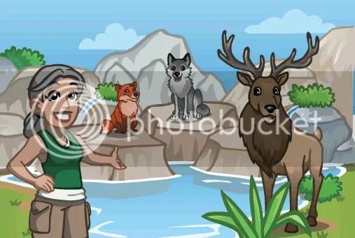 animaux montagne zoo