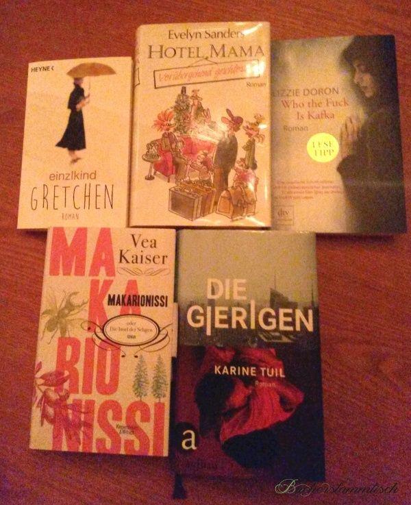 Buchempfehlungen im August