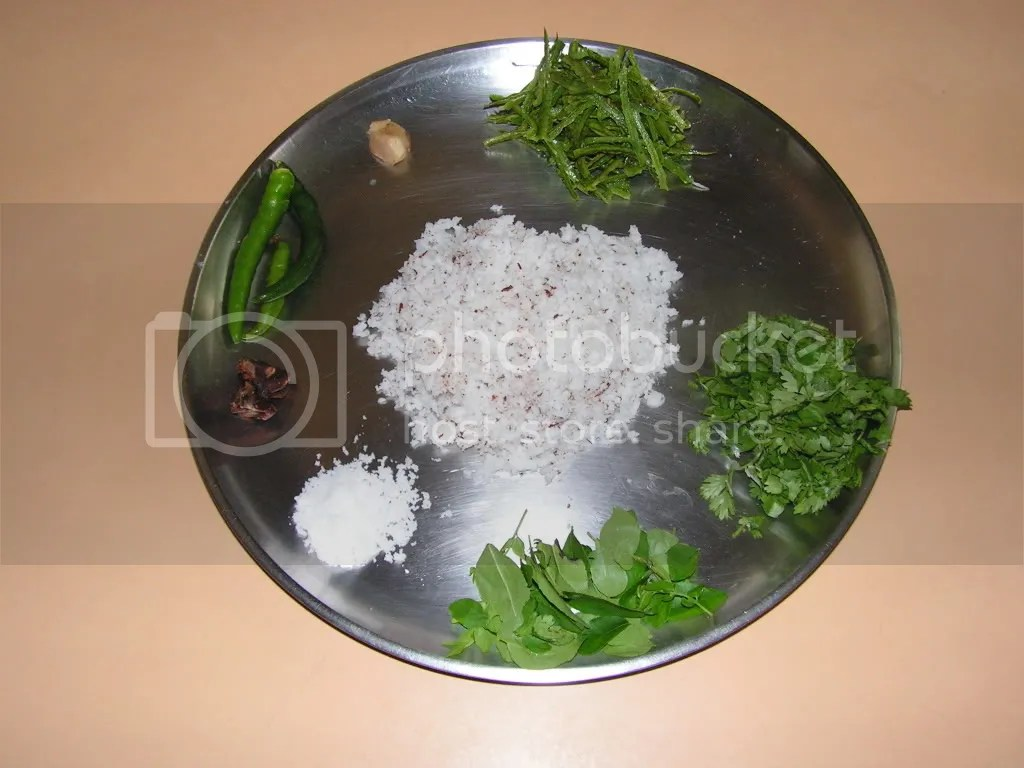 ingredients of chutney