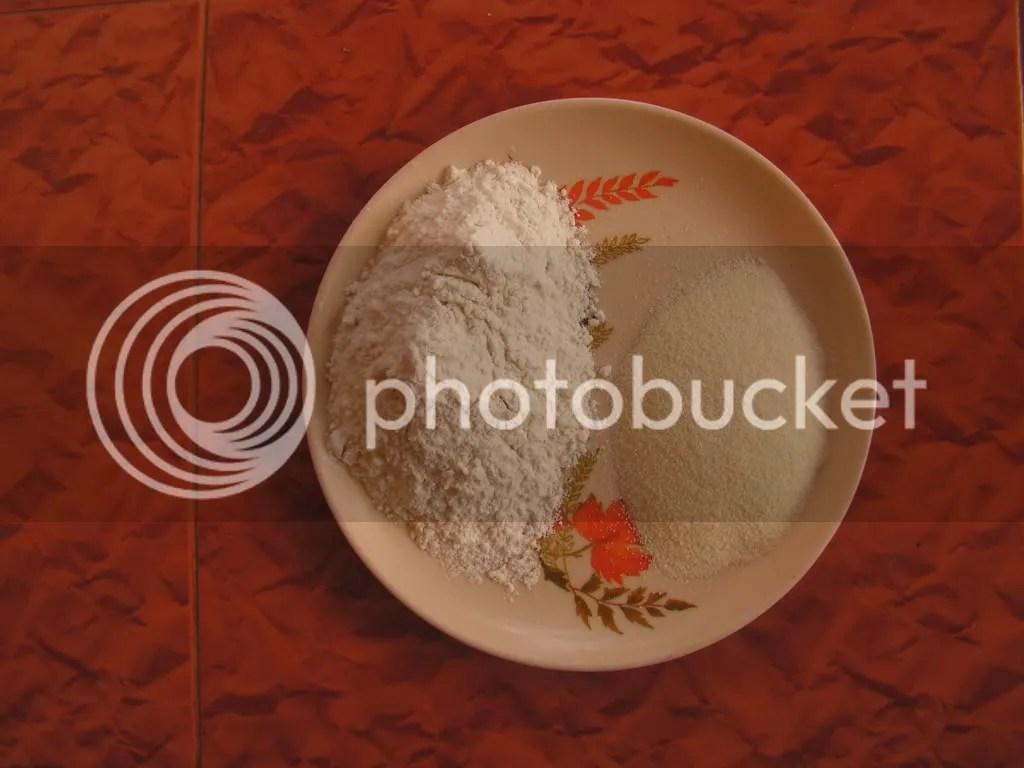 Ingredients of Karanji dough
