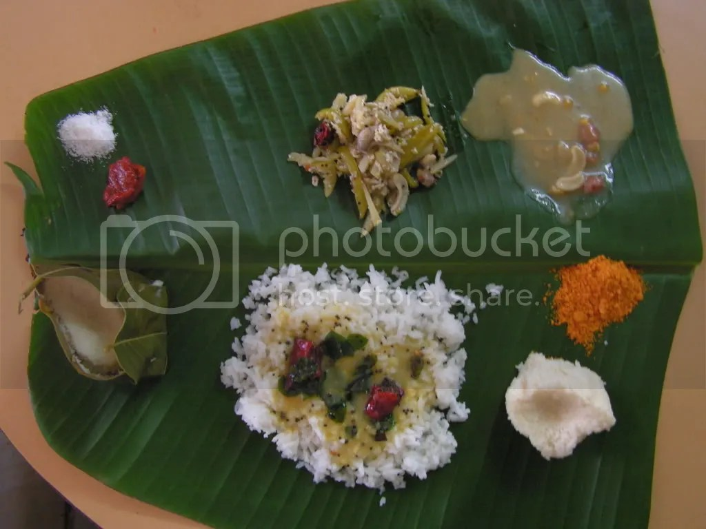 Ugadi lunch in Banana leaf