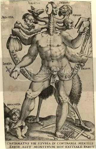 Allegory of Five Obstinate Monsters