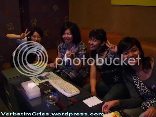 karaoke with new friends