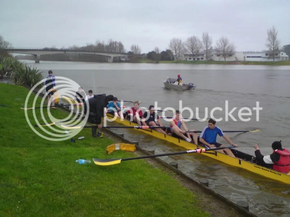 Rowing - Waikato River (5/6)