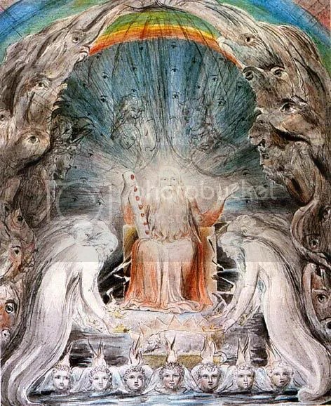 The Four and Twenty Elders Casting their Crowns before the Divine Throne