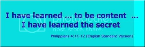 Philippians 4:11-12 (English Standard Version)