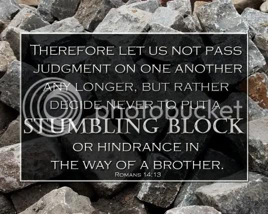 Romans 14:13