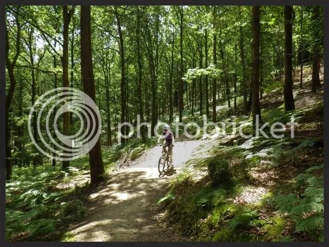 Rosana on a bike