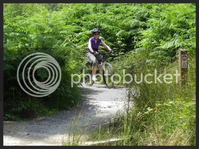 Rosana, still on a bike
