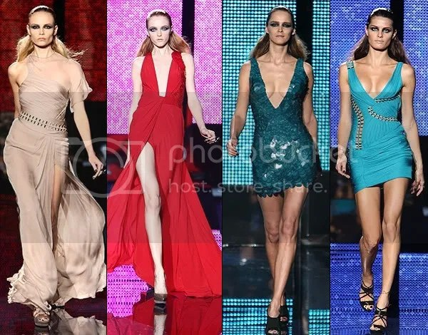 Versace Autumn (Fall)/Winter 2009-1010 runway