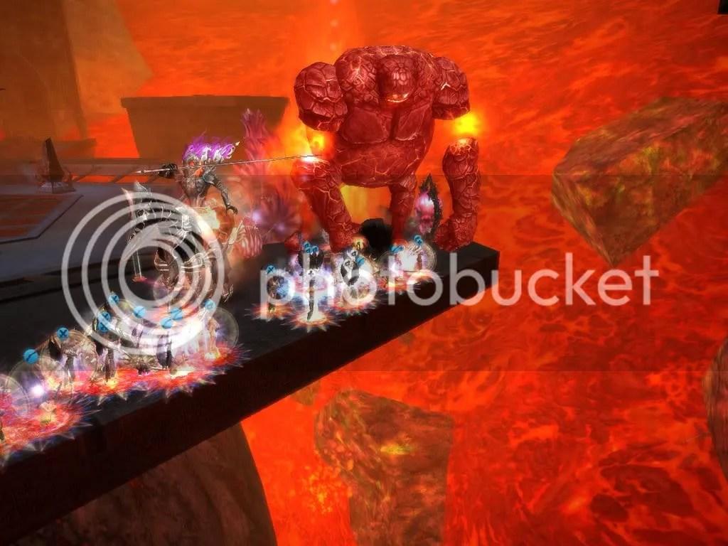 The Fire Golem vs IraDeorum