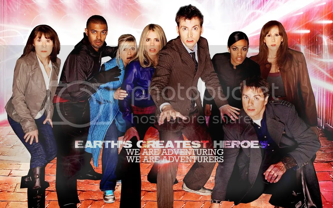 Doctor Who and friends