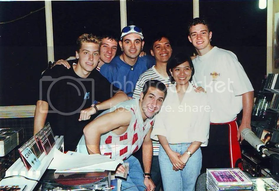with 'n sync