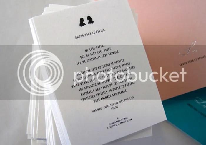 L'amour pour le papier
