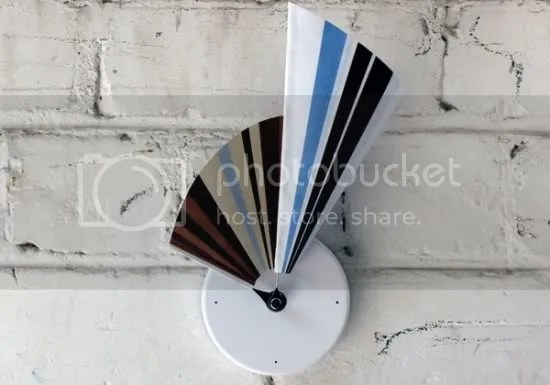 horloge,murale,papier,couleur,3D