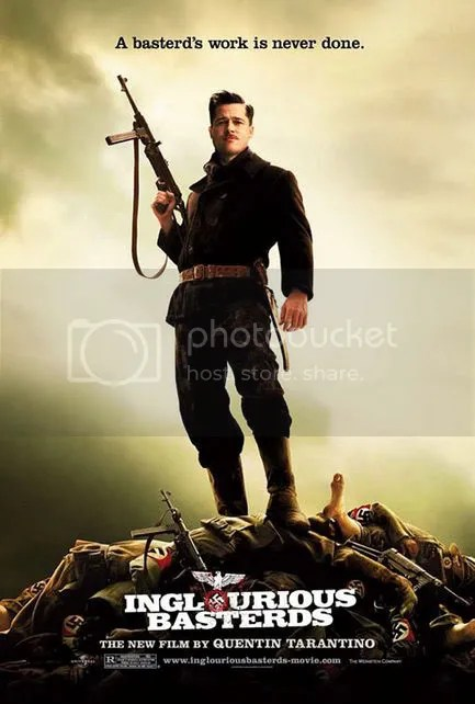 nazi,inglorious bastard,commando des batards,affiche,film,design,graphisme,poster,thinking