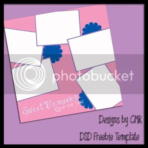 Designs by CMR -DSD Freebie Template