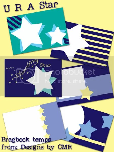 U R A Star Bragbook Templates