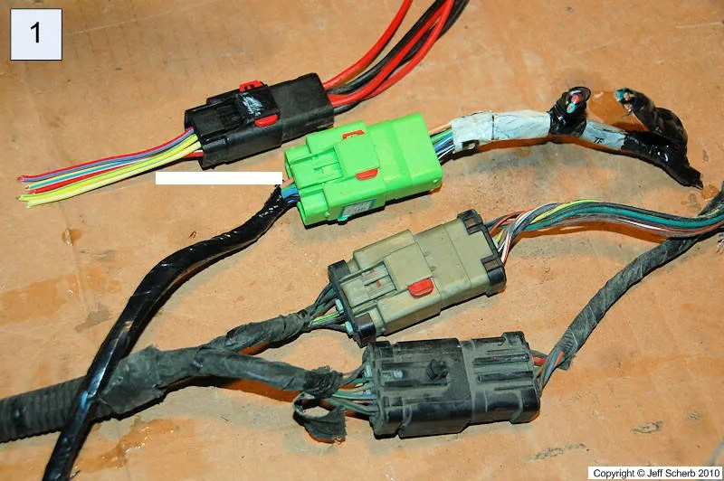 Hardtop Wiring Converting Plugs To Match Different Years
