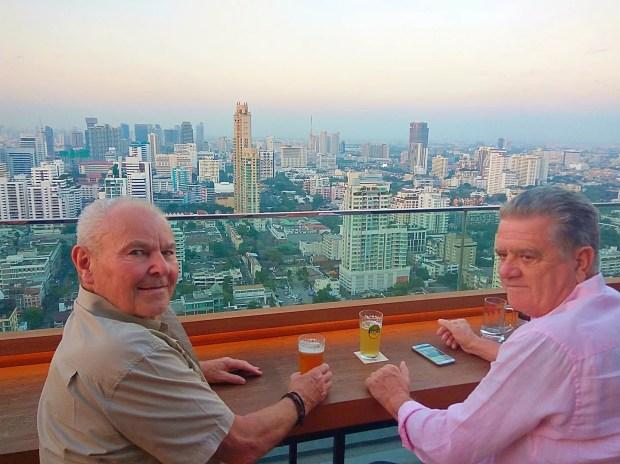 Spectactular Bangkok Sky Bars