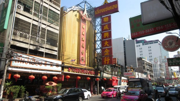 Chinatown Bangkok shopping sightseeing