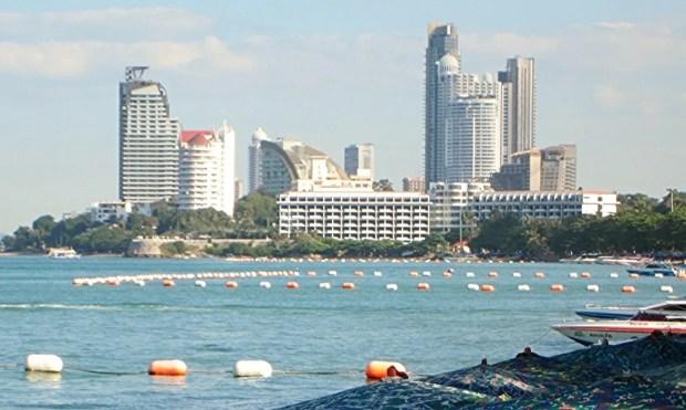 Wongamat skyline