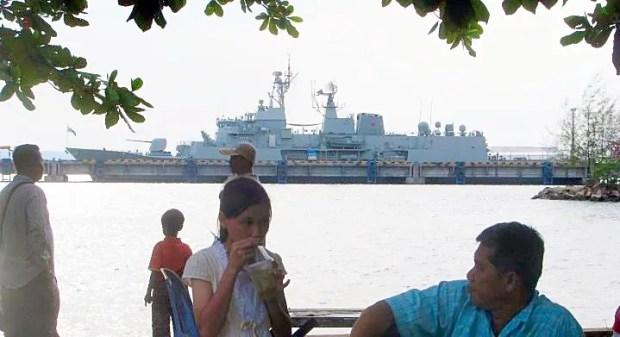 Sihanoukville Cambodia Coast