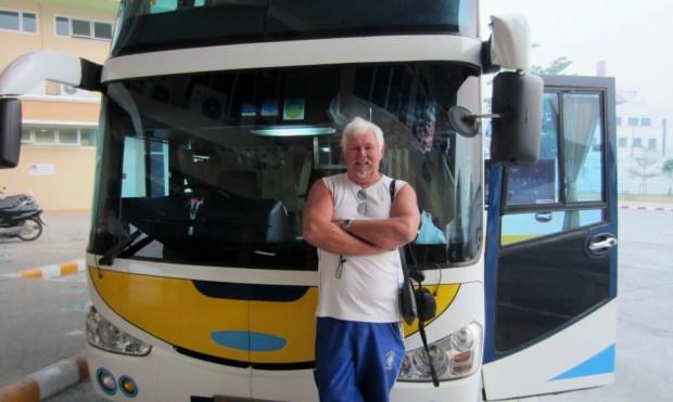 Bangkok bus, not a good idea