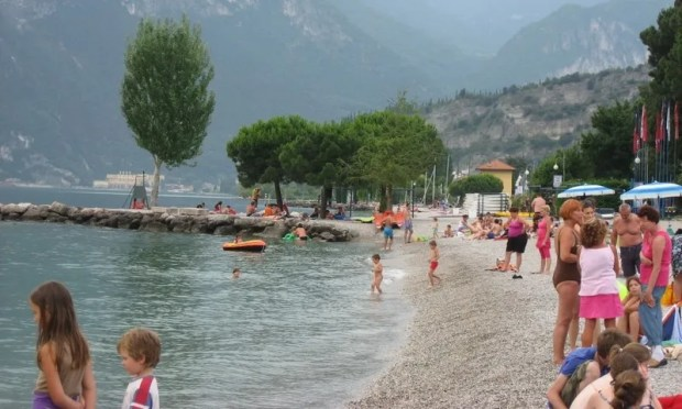 Beautiful Lake Garda northern Italy