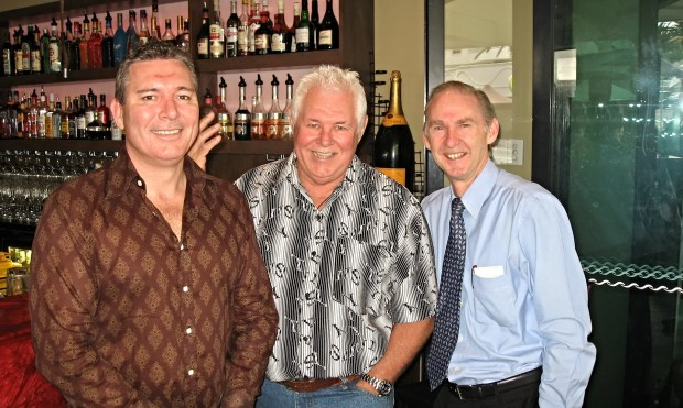 Ross Kennedy, David Herd, Phil Thomson