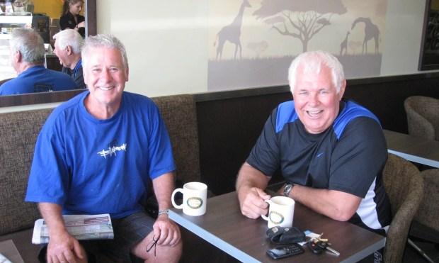 Tony Murphy and David Herd