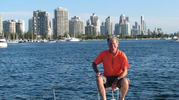Alan Kendall catamaran