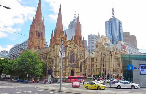Melbourne City cold windy 2014