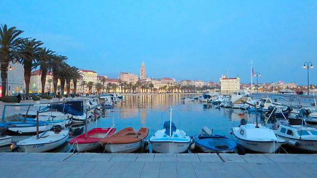 Split Ancient Croatian Coastal city