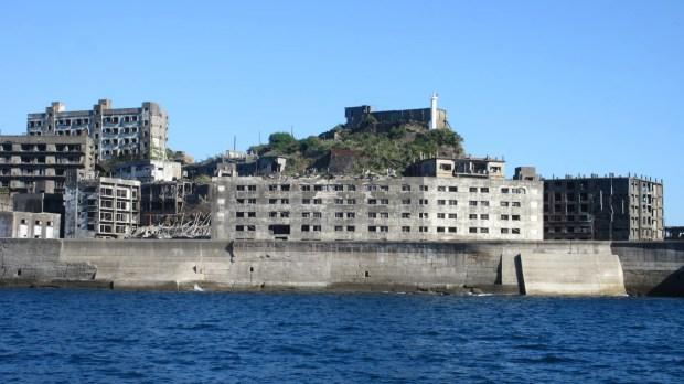 Battleship Island Nagasaki coal mine