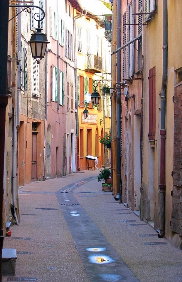 French village Breil Sur Roya