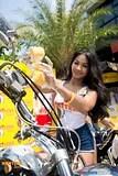 Hooters Pattaya charity bike wash