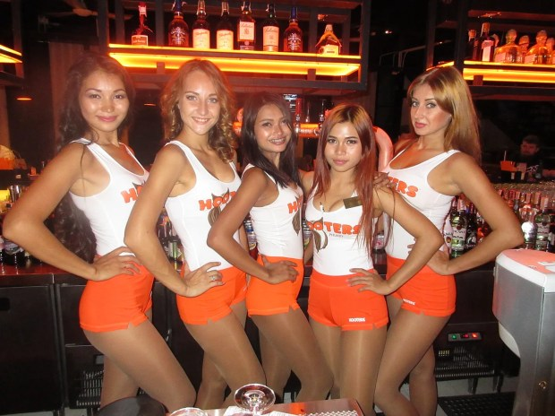 Beautiful Hooters babes