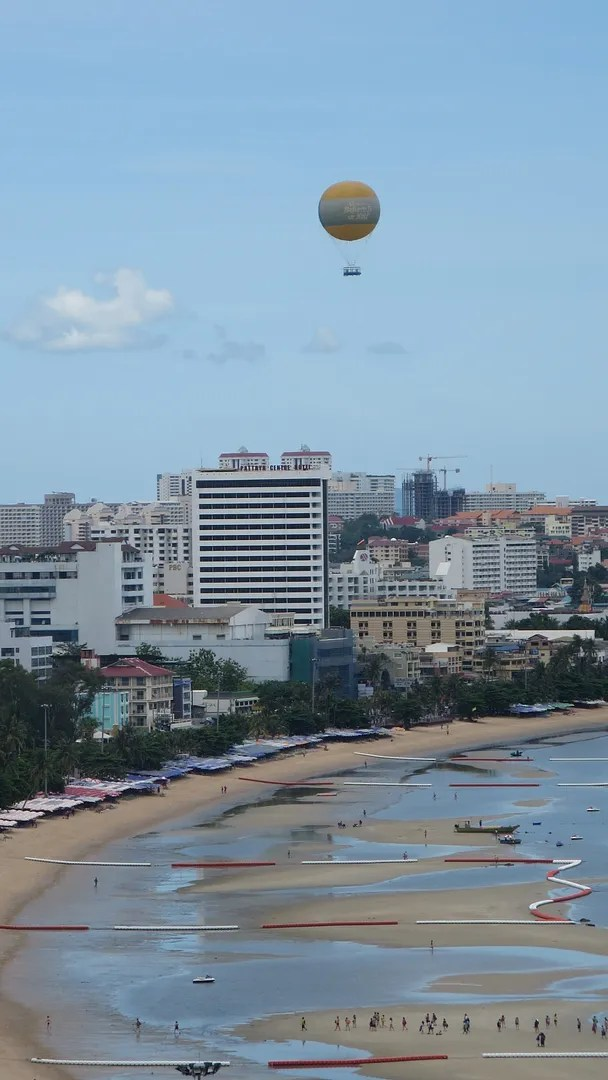 Pattaya beach bay