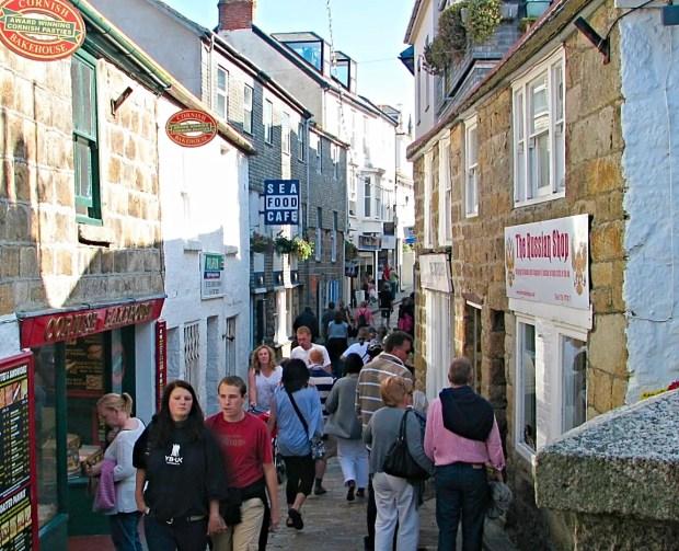 St Ives Cornwall Best Seaside Town