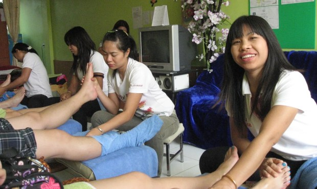 Pattaya foot massage
