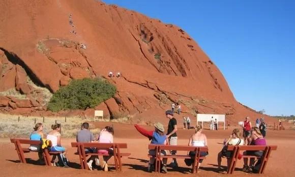 Australian Outback Japanese students