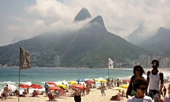Ipanema beach in Rio