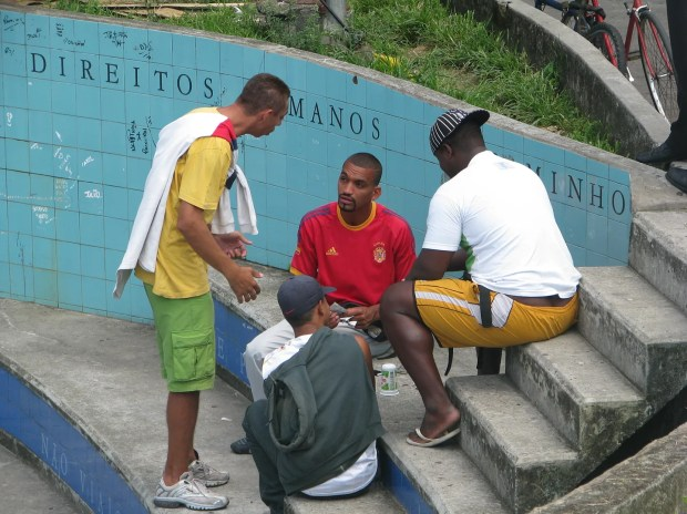 Favela meeting