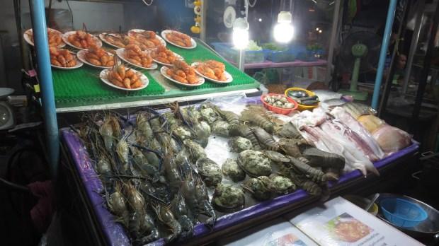 Market seafood Pattaya
