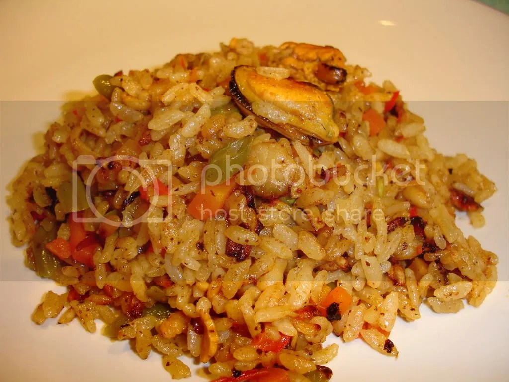 Paella Seafood (nasi campur spanyol)