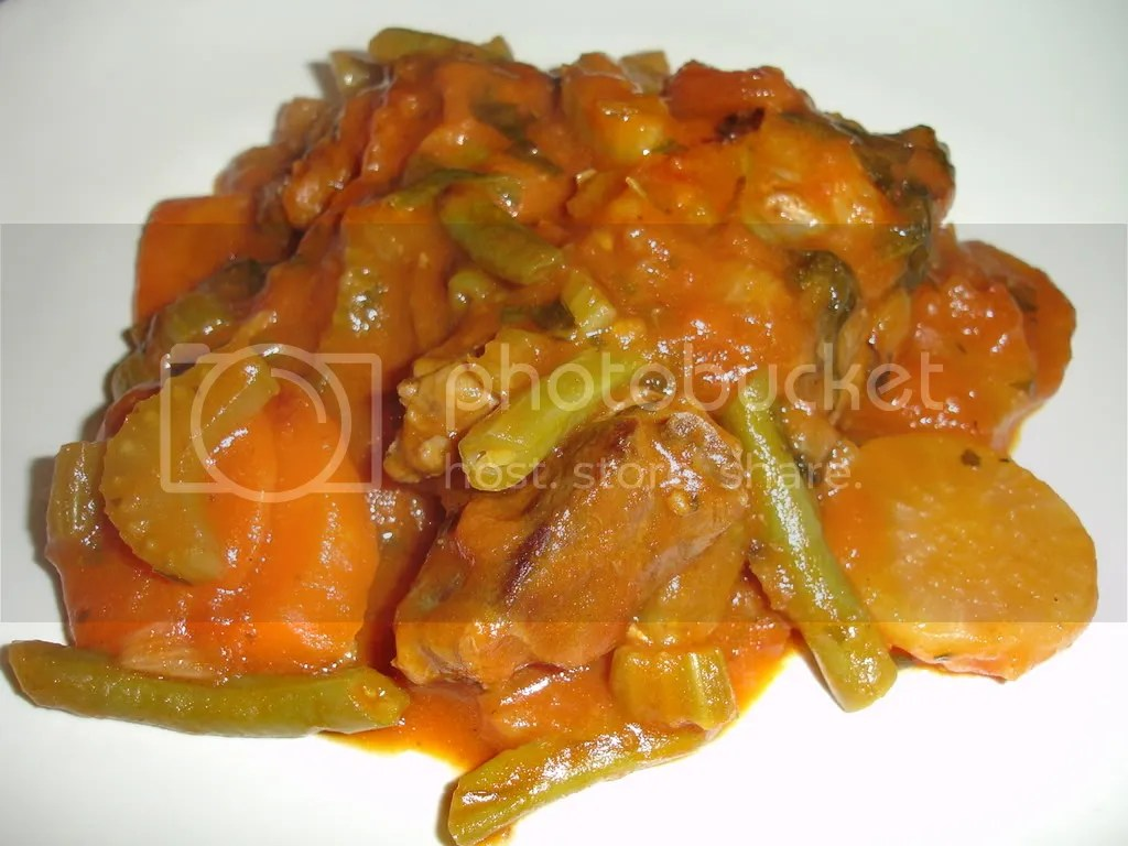 Lamb Casserole with vegetable