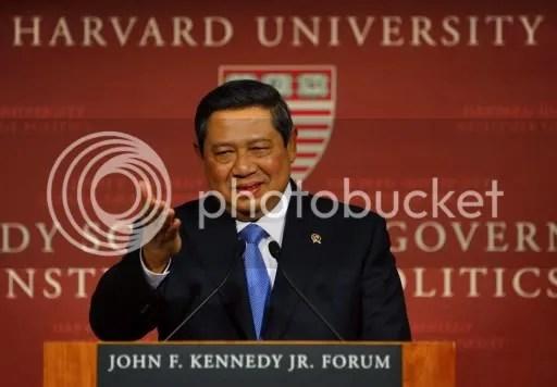 Pidato SBY di Harvard