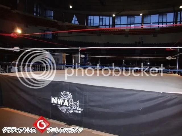 Actual Wrestling Ring