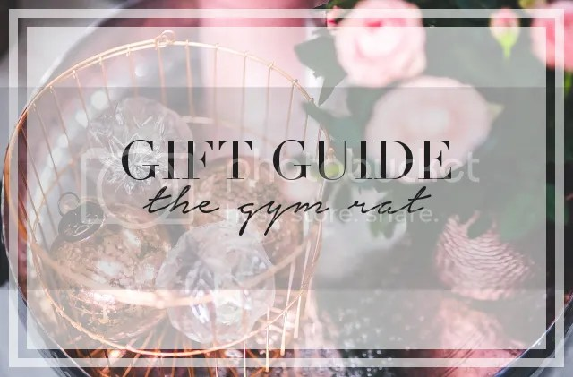 GIFT GUIDE: THE GYM RAT by Fashion in Flight